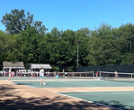 Glick Road Tennis Courts